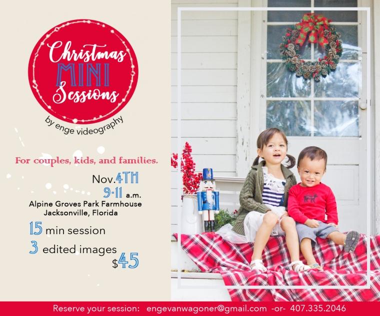 Christmas Minis Ad 1